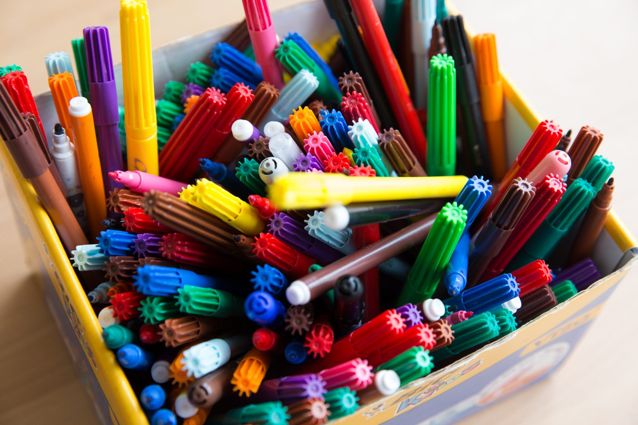 Stiften in bak
